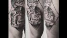 Eliza Báthory Sketchwork Tattoo Frau stay weird