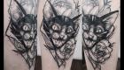 Eliza Báthory Sketchwork TattooKatze
