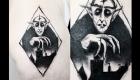 Eliza Báthory Sketchwork Tattoo Max Schreck Nosferatu