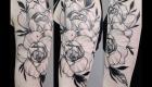 Eliza Báthory Sketchwork Tattoo Rosen